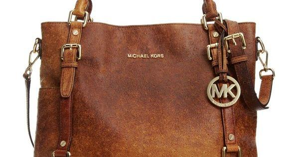 Michael Kors Handbag, Bedford Ostrich Tote