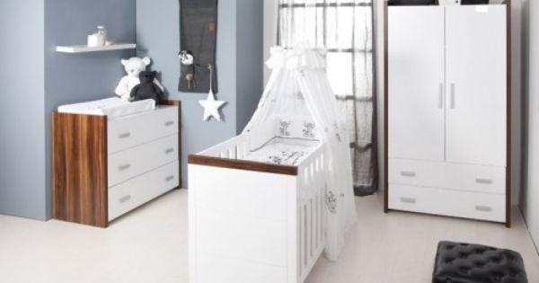 Babykamer grijs wit zwart blauw babykamer pinterest babykamer grijs babykamer en grijs - Volwassen kamer schilderij idee ...