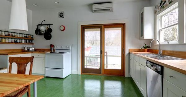 green kitchen floor marmoleum floor home floors green and 1409