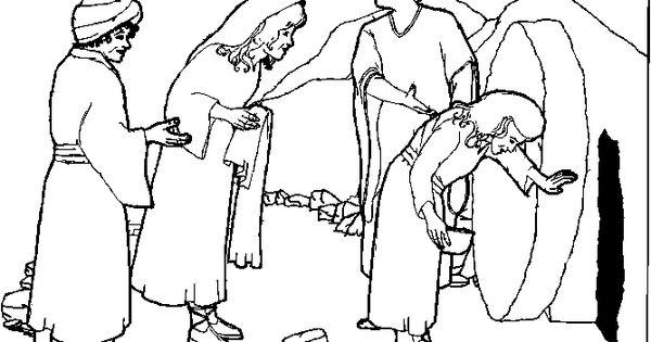 Jesus Empty Tomb Clip Art