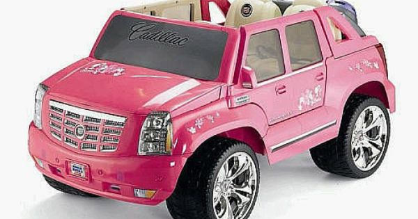 Power Wheels For Big Kids >> Power Wheels Fisher-Price Barbie Cadillac Escalade - Pink ...