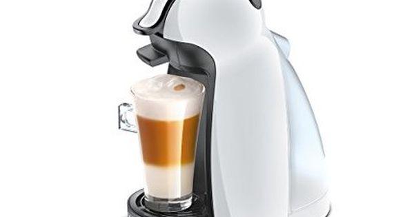 Delonghi Edg 100 W Nescafe Dolce Gusto Piccolo Kaffeekapselmaschine Manuell Weiss With Images Capsule Coffee Machine Italian Espresso Machine Cappuccino Machine