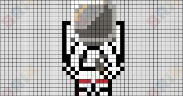 Astronaut Pixel Art Pixel Art Pixel Art Templates Lego Art