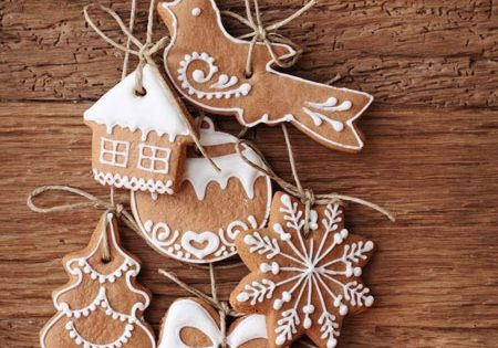 Homemade gingerbread ornaments. Christmas Ornaments Cookies