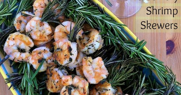 Rosemary Shrimp Skewers - pairs perfectly with New Year's Eve bubbly! event