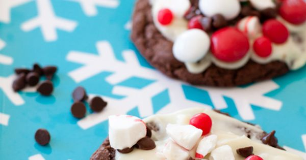 Favorite Christmas Cookie Recipes: Peppermint candy bark cookies »