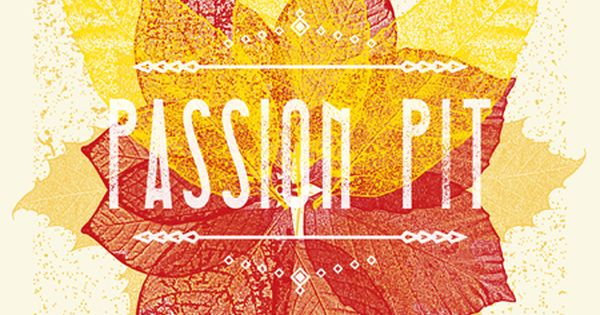 passion pit | music poster | Tumblr