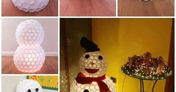 Ejemplos de adornos navide os reciclados f ciles y baratos for Adornos casa baratos