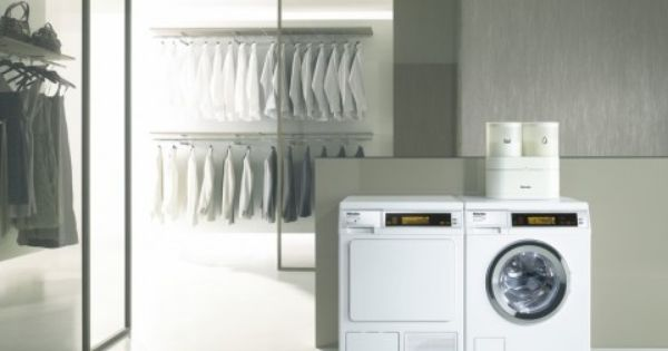 Miele The Miele W 5000 Wps Supertronic Washing Machine And The