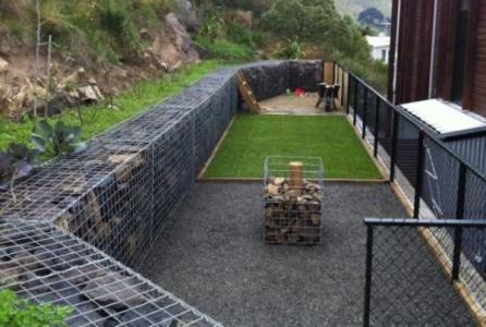 Gabion Landscaping Design Ideas Rocks Stone Walls Fences Nz Gabion Retaining Wall Landscaping Retaining Walls Backyard Retaining Walls