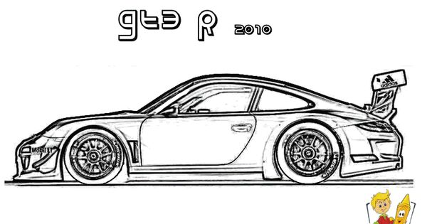 Cars Coloring Pages for Boys