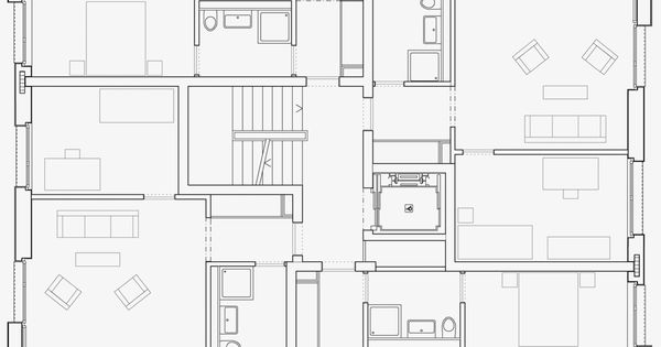 grundriss prototyp f r affordable housing haus adimora grundriss wohnen pinterest. Black Bedroom Furniture Sets. Home Design Ideas