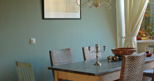 dining room wall painted with 39 pigeon 39 farrow ball. Black Bedroom Furniture Sets. Home Design Ideas