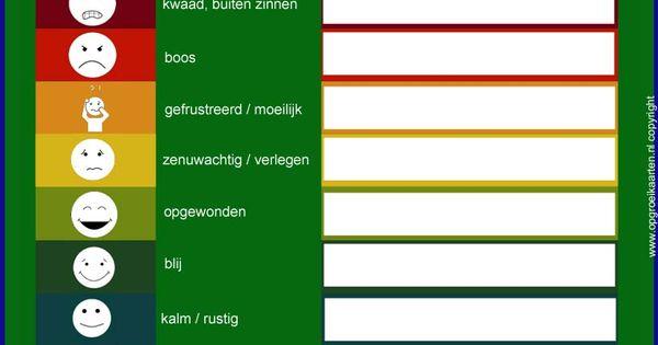 Emotiethermometer - gratisbeloningskaart.nl - Sova ...