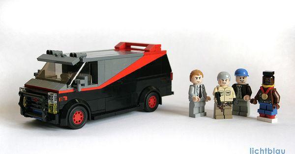 A-Team Van 1983 GMC Vandura flickr LEGO MOC