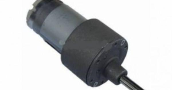 A JohnsonGeardcmotor is a simple DCmotor with gear box
