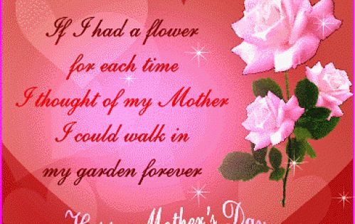 Happy Mothers Day Poems in German Happy Mothers Day