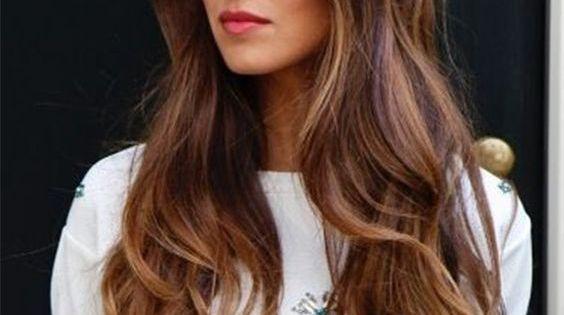 Ombre hair marron caramel tendance printemps t 2016 coiffures balayage ombr et cheveux - Ombre hair marron caramel ...