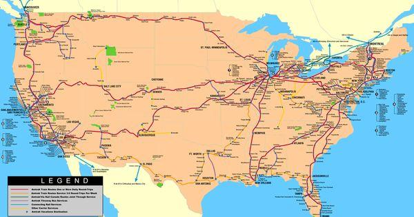 route map maps pinterest viaggi treni e viaggi in treno