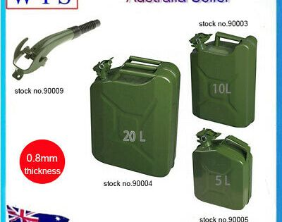 Ebay Advertisement Steel Metal Gas Gasoline Diesel Petrol Oil Fuel Jerry Cans Caddy Tank Storage In 2020 Jerry Can Car Tools Petrol