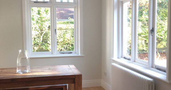 Dining Room Painted Using Farrow And Ball Strong White Tedd Todd Classic Whinfell Flooring