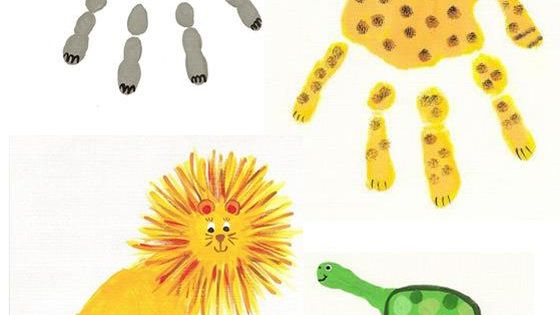 8 Easy and creative handprint Kids craft ideas with craft paint -