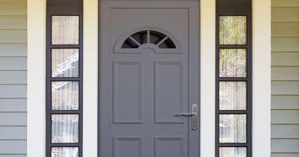 Repeindre une porte d 39 entr e pvc atelier d co et entr es - Repeindre une porte d entree en bois ...