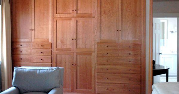 Shaker Built In Cabinet Dorset Custom Furniture The