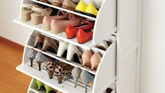 wHAT!! Ikea shoe drawers! Great idea & saves space