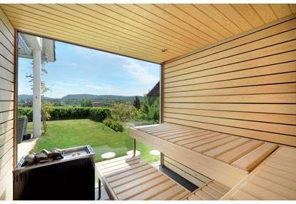 Sauna Garten - Google-suche | Сауна | Pinterest | Garten, Saunas ... Schlichtes Sauna Design Holz Seeblick
