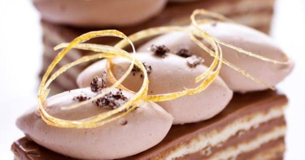 Vanilla Fleur de Sel, Caramel and Chocolate Dobos Torte ...