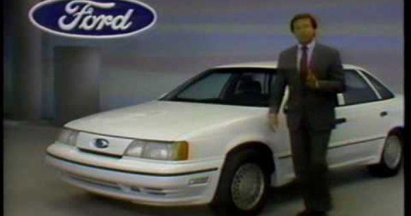 1990 Ford Taurus Sho Dealer Training Video Ford Taurus Sho
