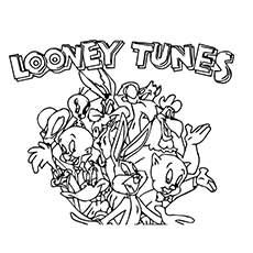 Top 25 Free Printable Looney Tunes Coloring Pages Online Looney Tunes Cartoon Coloring Pages Coloring Pages