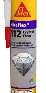 Sikaflex 112 Crystal Clear Mastic Colle De Montage Transparente Sika Materiaux De Construction Collant Transparent
