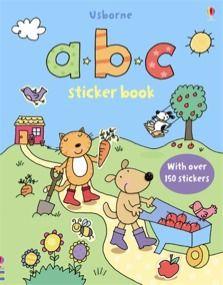 Abc Sticker Book Sticker Book Usborne Books Educational Books