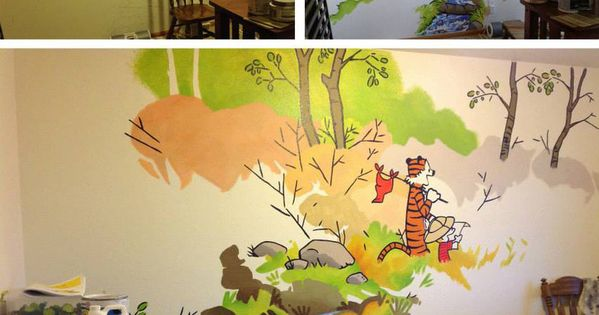 calvin hobbes nursery by frostdrake on deviantart. Black Bedroom Furniture Sets. Home Design Ideas