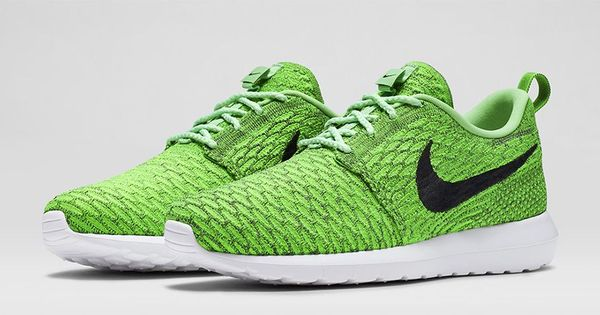 Nike Roshe Run Flyknit Green