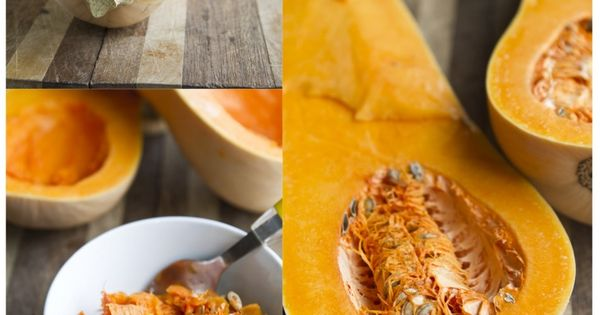 Twice Baked Butternut Squash (with quinoa and gorgonzola ...