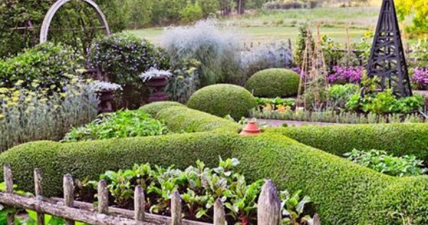 Potager french for vegetable garden design modern for French vegetable garden design