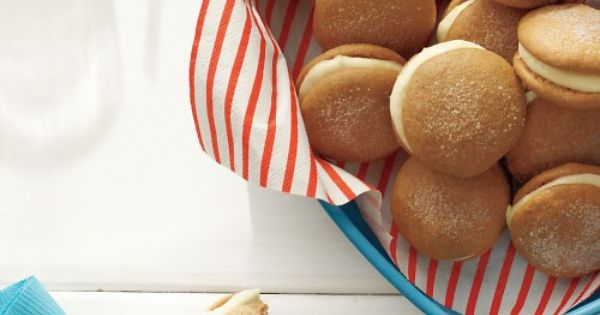 Key lime whoopie pies. I love key limes (especially when used to