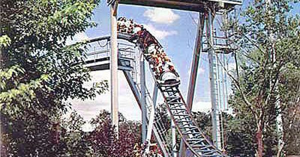One Of Big Bends Swooping Drops Six Flags Over Texas Big Bend Houston History