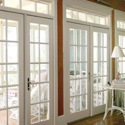 Out Swing Patio Doors Stormpoint Series Distinction Collection Lincoln Windows Patio Doors Patio Doors French Doors Windows Exterior