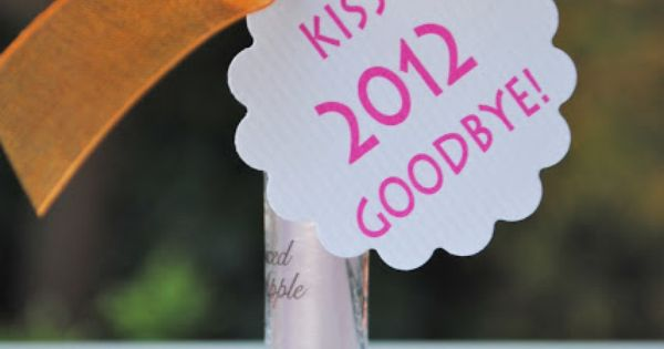 Well, I am ready to give 2012 the Kiss Off... Bring on 2013! also on Bloom Designs, Tidy Mom, One Creative Mommy, Tatertots and Jello, Six Sisters, Be Different