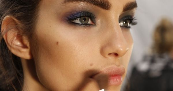 Fall 2014 Beauty: Top Marks - Beauty at Nicole Miller RTW Fall