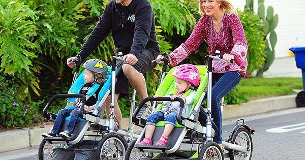 Bike Stroller?! Wish I had something like that when my kids were
