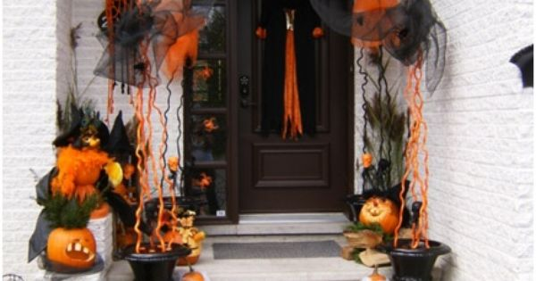 Le d cor ext rieur pour l 39 halloween d coration for Idee deco exterieur halloween