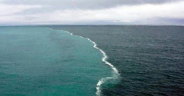 Gulf Of Alaska Where The 2 Oceans Meet But Do Not Mix