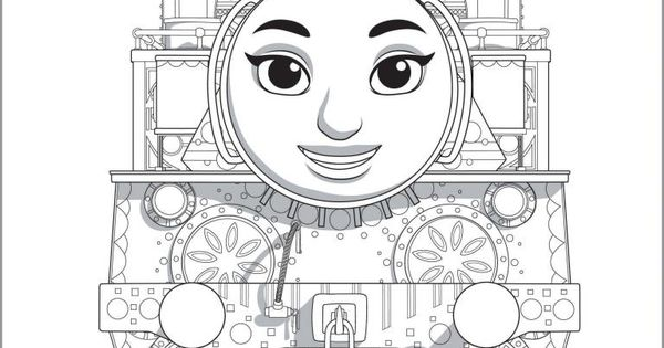 thomas  u0026 friends  the great race colouring pages