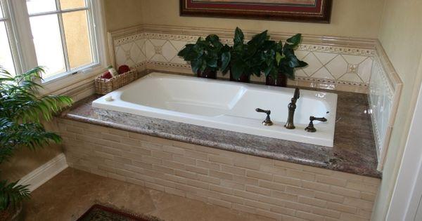 Crema Bordeaux Bathrooms Crema Bordeaux Granite Tub