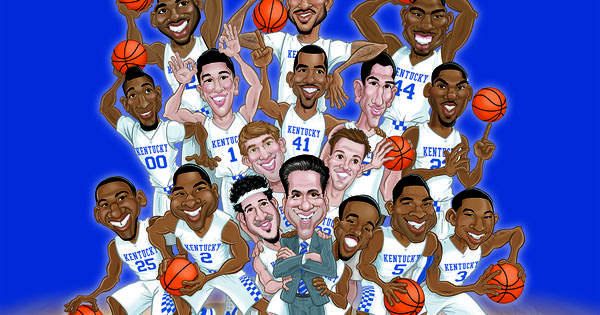 "The Undefeated Kentucky Wildcats: New Kentucky Basketball ""The UNDEFEATED"" 2014-15 Team"